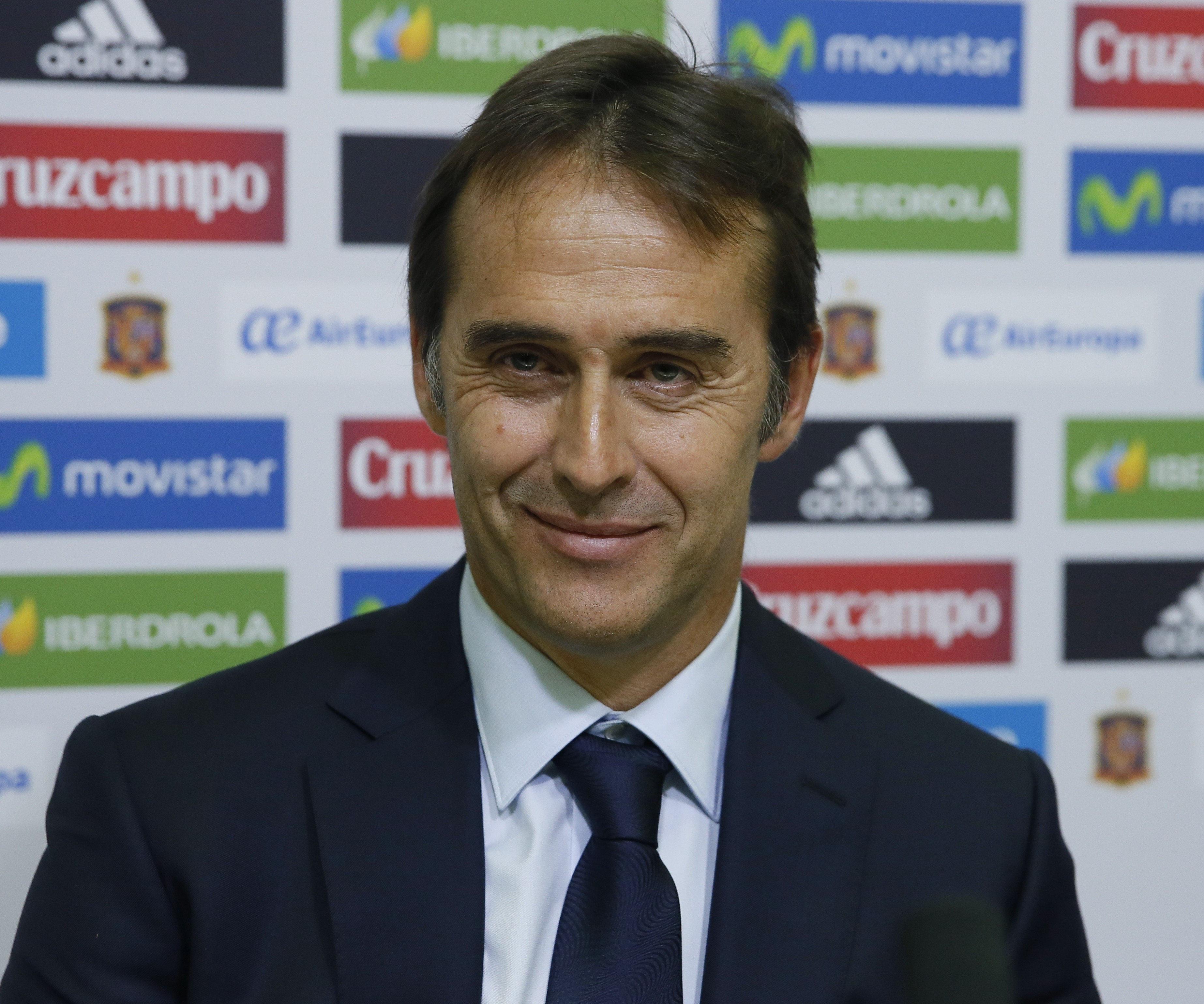 Resultado de imagen de Julen Lopetegui seleccionador nacional españa